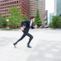 走り続ける