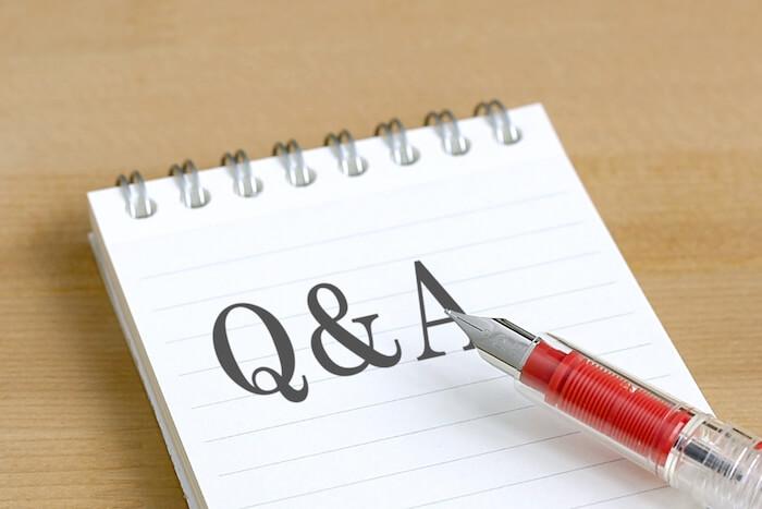ブログに対する3大質問