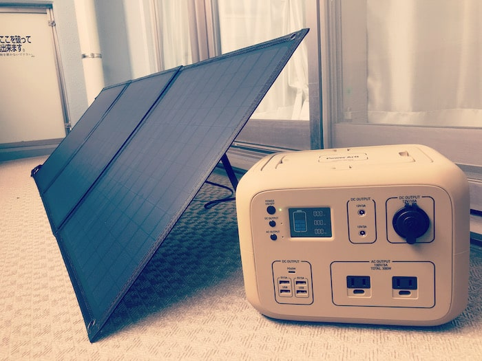 PowerArQ2+PowerArQSolarレビュー/ポータブル電源+ソーラーパネルで災害に備える